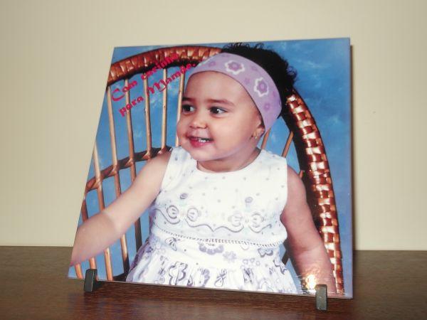 Azulejo personalizado com foto personalize presentes for Azulejos personalizados